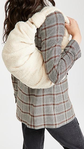Gia Studios Large Croissant Shoulder Bag