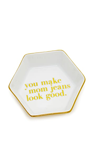 Gift Boutique Mom Jeans Dish