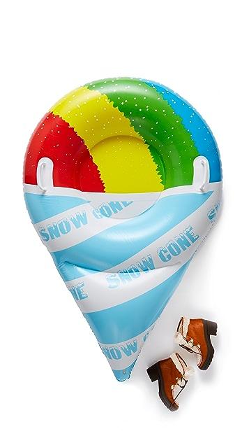Бутик подарков Ватрушка для катания по снегу в форме фруктового мороженого-рожка