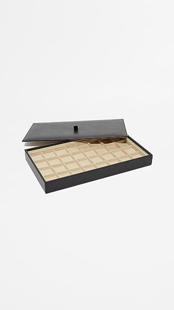 Gift Boutique Планшет с разделителями для хранения серег WOLF