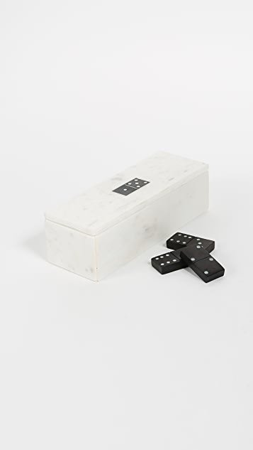 Gift Boutique Blanc Domino & Storage Box Set
