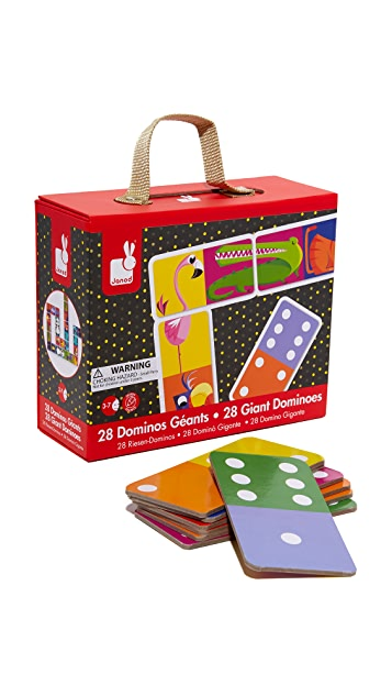 Gift Boutique Child's Jungle Giant Dominos