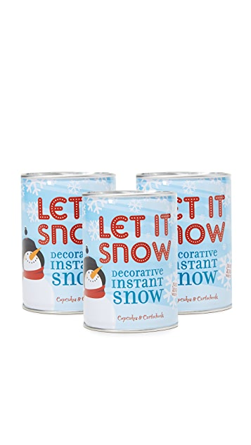 Gift Boutique Instant Snow in a Can 3 Pack