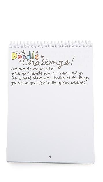 Gift Boutique Doodle a Day Activity Book & Pen Set