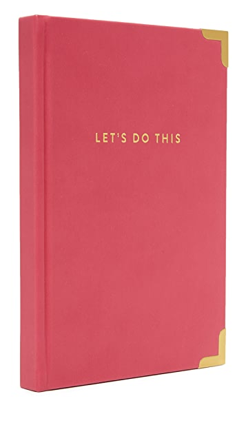 Gift Boutique Gold Corner Let's Do This Journal