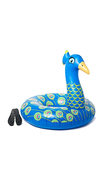 Gift Boutique Peacock Pool Float
