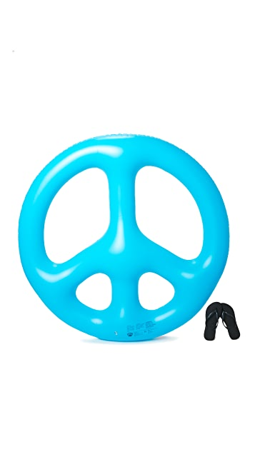 Gift Boutique Peace Sign Pool Float