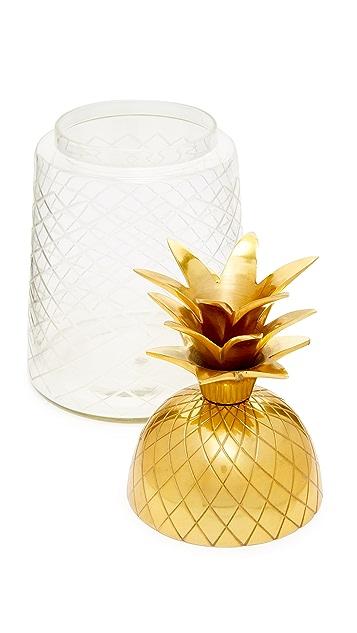 Gift Boutique Pineapple Ice Bucket Jar