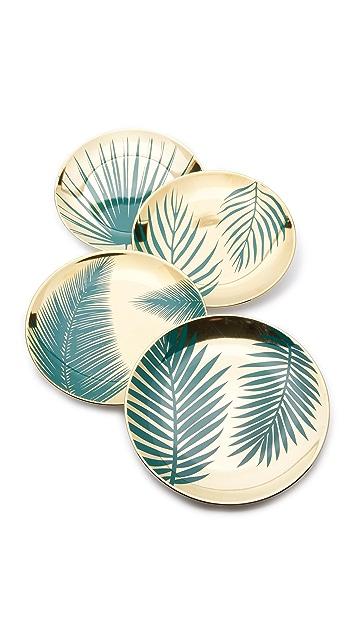 Gift Boutique Botanical Plates Set