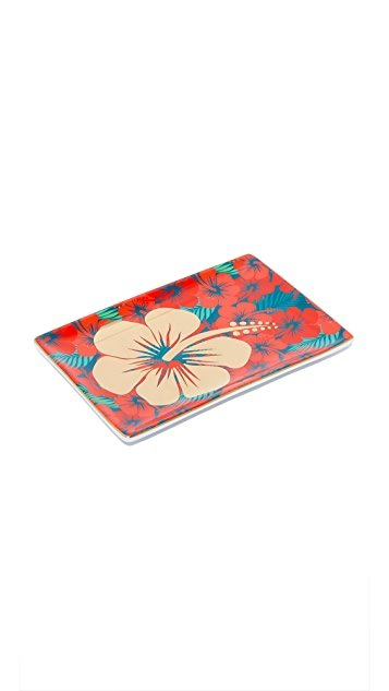 Gift Boutique Hibiscus Tray