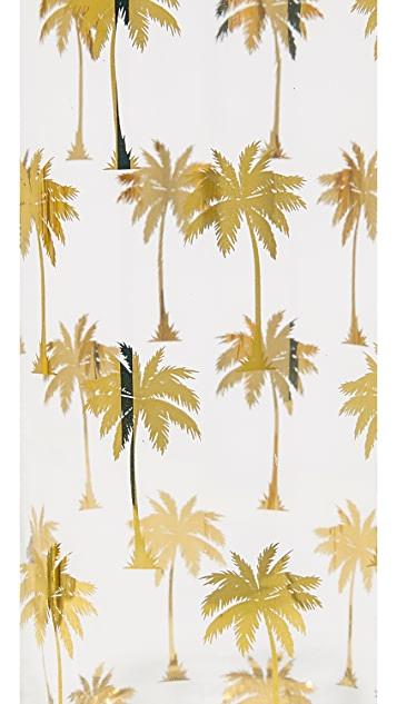 Gift Boutique Palm Tree Highball Glasses