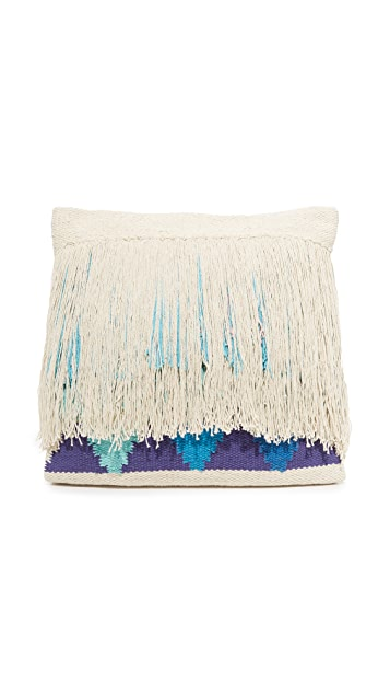 Gift Boutique Mosaic Tassel Pillow