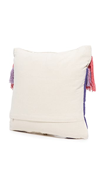 Gift Boutique Mosaic Tassel Pillow