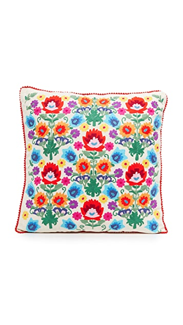 Gift Boutique Floral Pillow - Multi