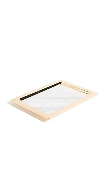 Gift Boutique Dual Marble Tray