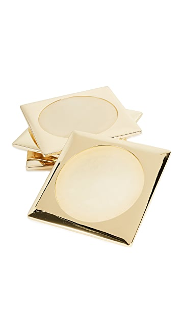 Gift Boutique Circulo Set of 4 Coasters