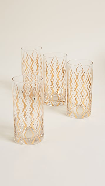Gift Boutique Cocktail Glass Set