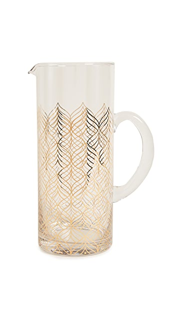 Gift Boutique Glass Serving Pitcher