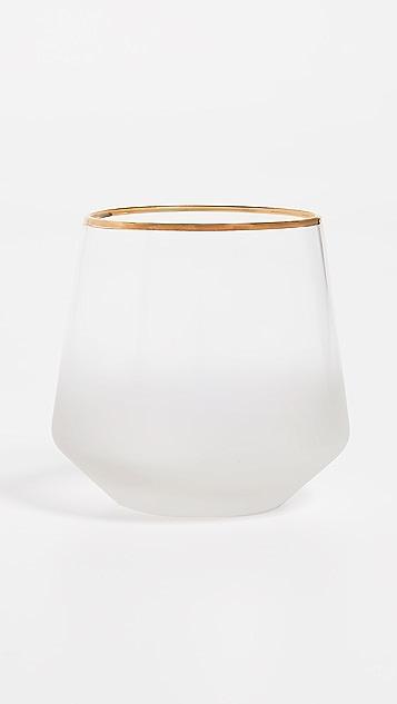 Gift Boutique Frost Rocks Set of 4 Glasses