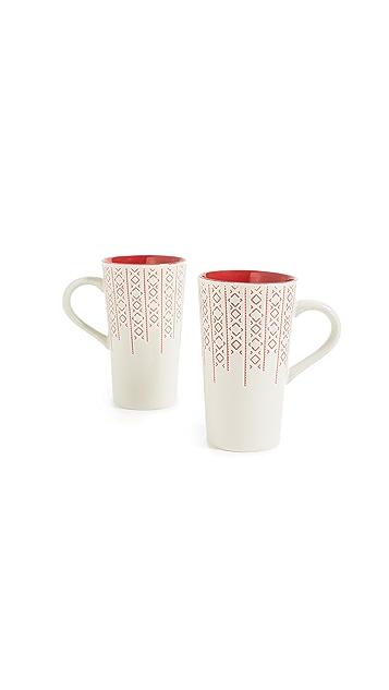 Gift Boutique Набор из двух кружек для латте
