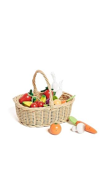 Gift Boutique Child's Fruits & Veggie Basket