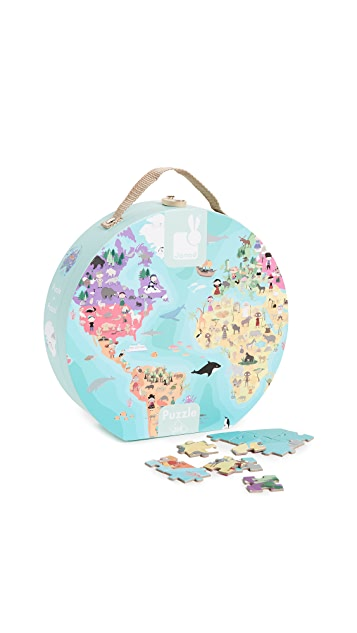 Gift Boutique Child's Our Blue Planet Double Sided Puzzle