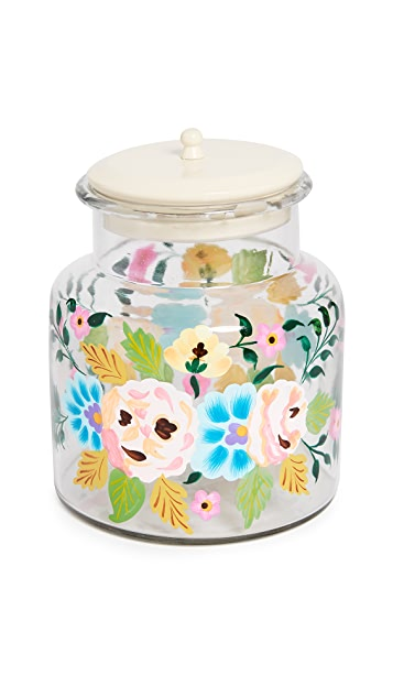 Gift Boutique Hand Painted Jar