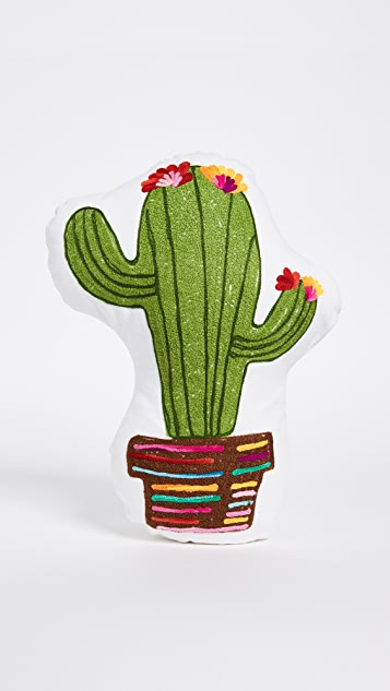Gift Boutique Happy Cactus Pillow