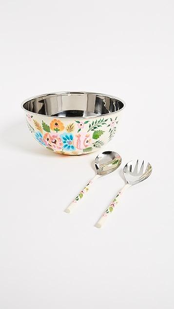 Gift Boutique Salad Bowl Set - Ivory