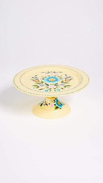 Gift Boutique Floral Cake Platter