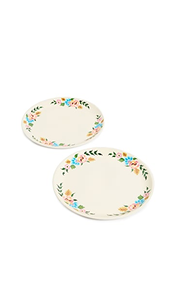 Gift Boutique Plates Set of 2