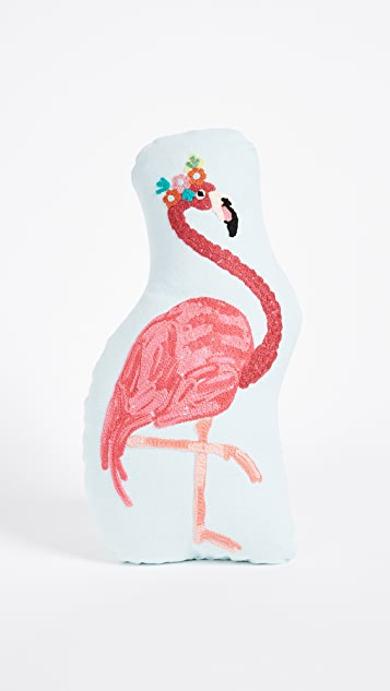 Gift Boutique Flamingo Pillow - Pink