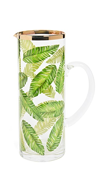 Gift Boutique Botanical Leaf Pitcher