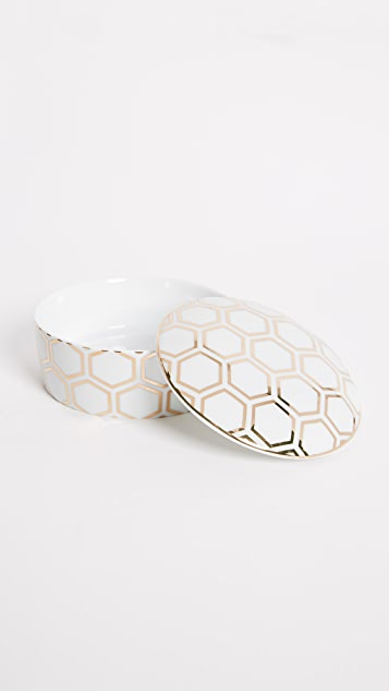 Gift Boutique Honeycomb Trinket Box