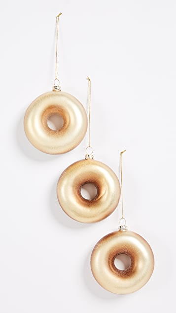Gift Boutique Doughnut Ornament Set