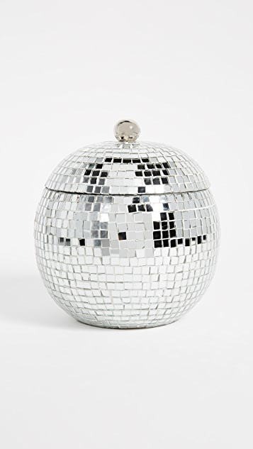 Gift Boutique Disco Ball Ice Bucket - Silver