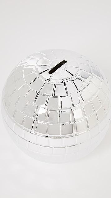 Gift Boutique Disco Ball Money Bank