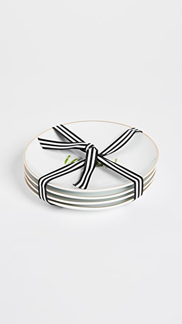 Gift Boutique Dessert Plate Set of 4