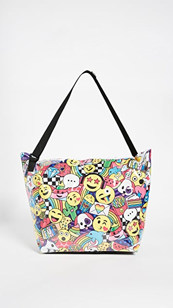 Gift Boutique Child's Emoji Party Weekender Bag