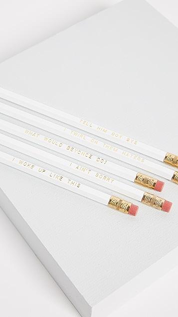 Gift Boutique Beyonce Pencil Set