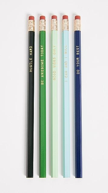 Gift Boutique Inspirational Pencil Set