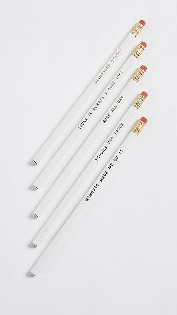 Gift Boutique Beverage Pencil Set