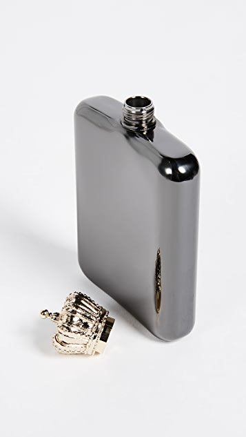 Gift Boutique Crown Flask