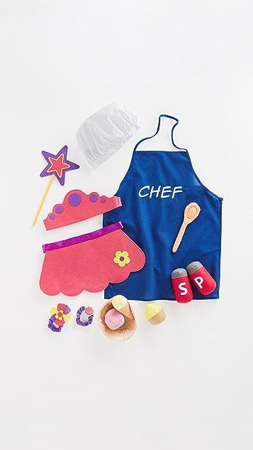 Gift Boutique Child's Princess & Chef Props in a Box
