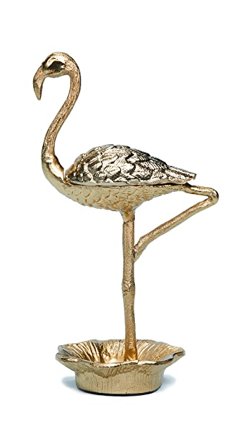 Gift Boutique 8 Oak Lane Flamingo Jewelry Holder