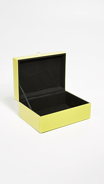 Gift Boutique Glass Jewelry Box