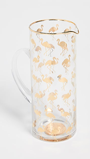 Gift Boutique Flamingo Pitcher