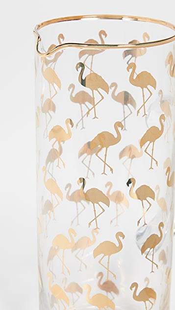 Gift Boutique Кувшин с изображениями фламинго
