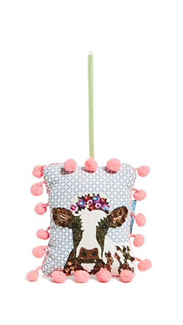 Gift Boutique Cow Ornament