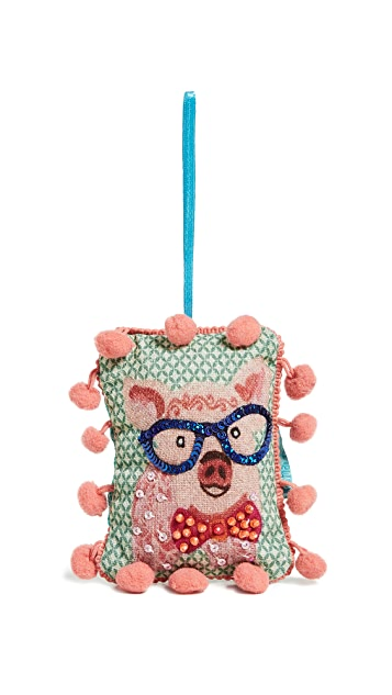 Gift Boutique Pig Ornament